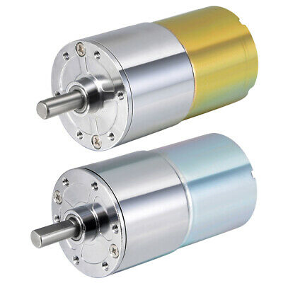 DC 12V/24V 20-300RPM Gear Motor High Torque Electric Reduction Gearbox Motor