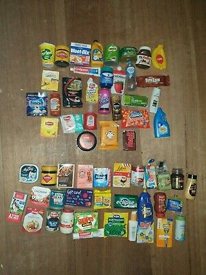 Full Set Coles Little Shop **1** And **2** Mini Collectables