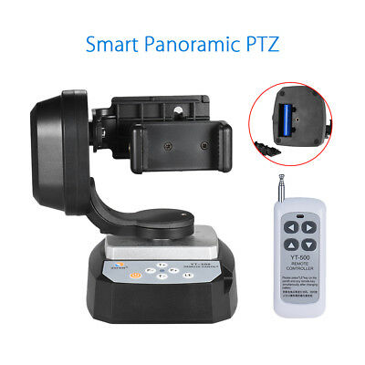 YT-500 Remote Control Motorized Pan Tilt Head PTZ Stand For Gopro Hero 6 5 4 AU!