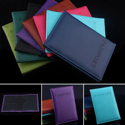 Passport Cover Travel Holder Wallet New Organiser Protector RFID PU Leather Bag