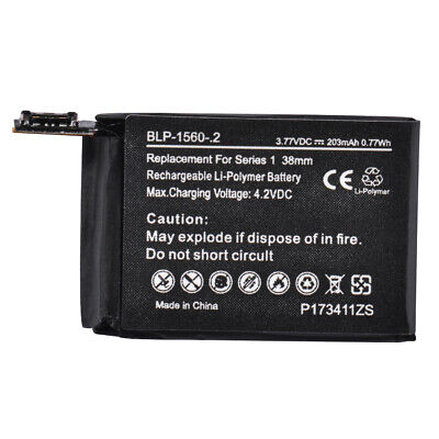 Battery Replacement For Apple Watch iWatch Series 1 38mm A1553 A1578 TE1179