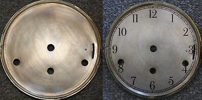 "Vintage 5"" clock face/dial Elegant Arabic numeral number renovation wet transfer"