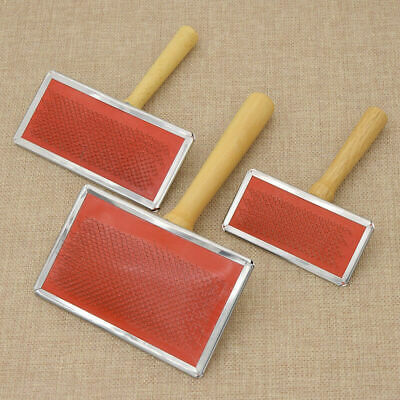 1pc Wool Blending Carding Combs Spinning Needle Felting Preparation Pet Supplies