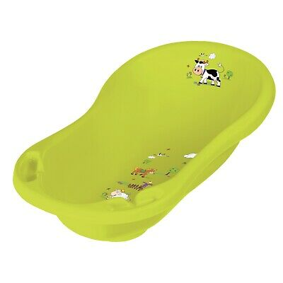 Keeeper Funny Farm Babywanne 84 cm mit Stöpsel green meadow TOP