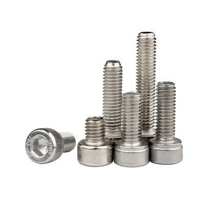 M3 M4 M5 M6 M8 304 Stainless Steel Hex Socket Head Cap Screw Bolts DIN 912