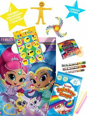 boys Shimmer and shine,party bags pre filled girls toys and sweets fillers