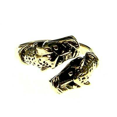 Celtic Dog Ring Bronze Symbol Folklore Jewelry - New