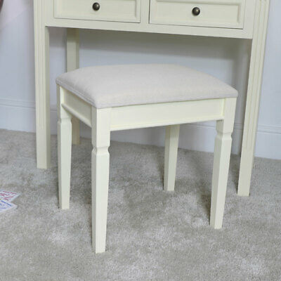 Cream dressing table vanity stool painted bedroom furniture modern contemporary