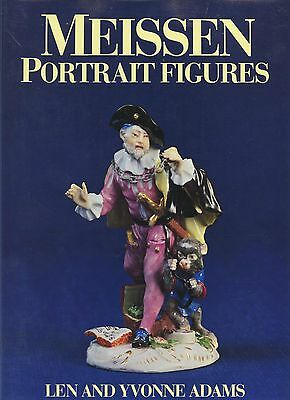 Antique Meissen Porcelain Portrait Figures -Models Designers Dates / Scarce Book
