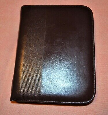 "Leather Day Runner Timer Planner LILLIAN VERNON Undated  6 Ring 6.75"" x 4.5"""
