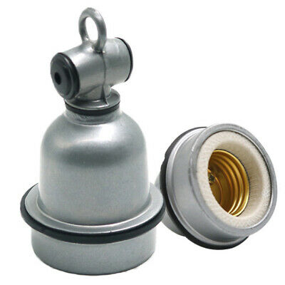 E27 Explosion-proof Ceramic High Temperature Light Head Lamp Holder Socket