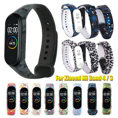 Camouflage Colorful For Xiaomi Mi Band 4 3 Watch Band Bracelet Strap Silicone