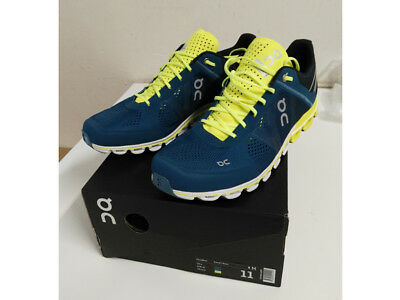 f4227d4838d22 ON RUNNING MENS Cloudflow Running Shoes Trainers Sneakers Petrol ...