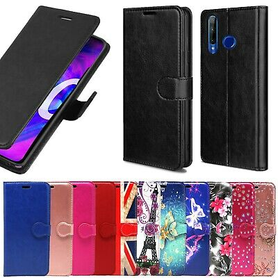 Case For Honor 20 Lite & 20 Pro Case Flip Wallet Cover Slim 100% Leather Cover