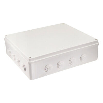 Weatherproof Outlet Cover In-Use Receptacle Protector 400x350x120mm White