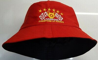 Liverpool Sun / Bucket Hat - 6 Times Champions of Europe - Great Gift idea