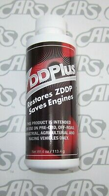 ZDDPlus ZDDP Engine Oil Additive Restores Zinc Every Oil Change. Discount Bottle