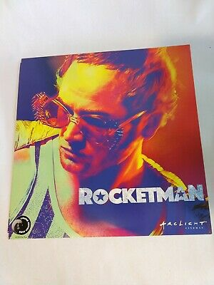 Rocketman Elton John Limited Edition 12 X 12 Movie Poster New, Ships Flat
