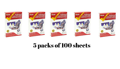 INKRITE INKJET Photo Paper Glossy 210 gsm 6*4-100 sheets * 5 Pack / (500 sheets)