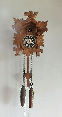 Vintage Black Forest Regula German Cuckoo Clock Needs Some Small Fixing