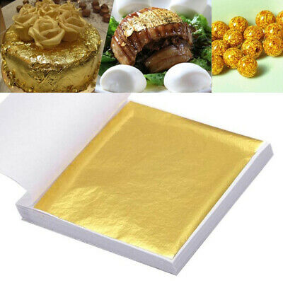 1PC Gold Foil Leaf Art Imitation Copper Foil Papers DIY Making Packing Decor