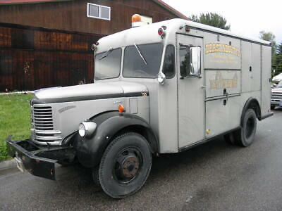 1953 Reo T Civil Defense Van Diamond International Sterling Food Pickup Truck