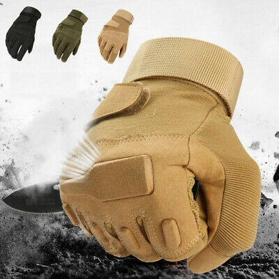 Winter Windproof Warmer Military Tactical Gloves Hunting Full Finger Gloves US