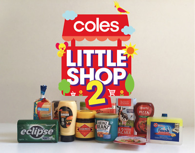 Brand New Coles Little Shop 2 Mini Collectables LAST CHANCE Free Fast Post