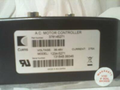 Curtis 1234-5271 Programmable AC Motor Controller - New