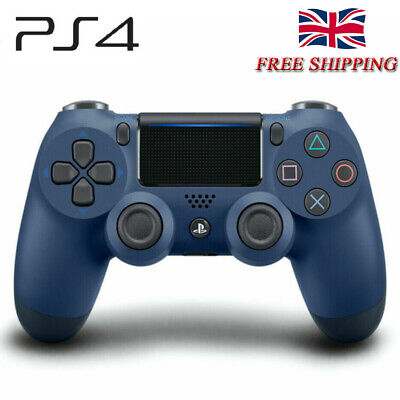 PS4 Wireless Gamepad Controller for Sony Dualshock4 PlayStation 4 Midnight Blue.