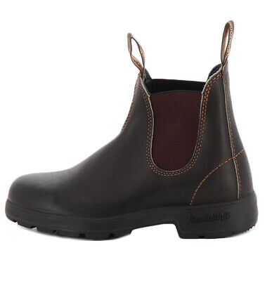 500 Mens Brown Black Leather Chelsea Ankle Boots Size UK 7-12 Blundstone 510
