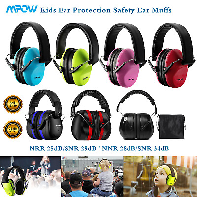 Mpow Boys Girls Baby Earmuffs Hearing Safety Protection Ear Defenders for Child