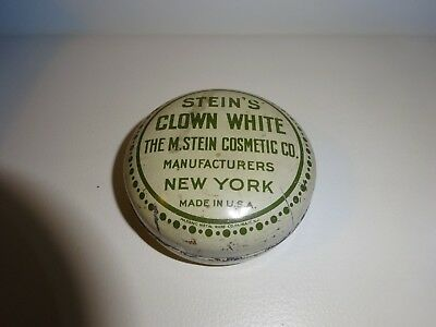 STEIN´S CLOWN WHITE COSMETIC, NEW YORK Metalldose