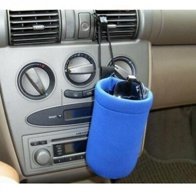 12V Portable Baby Bottle Warmer Heater Cover Portable Car Food Milk Cup Best #LZ