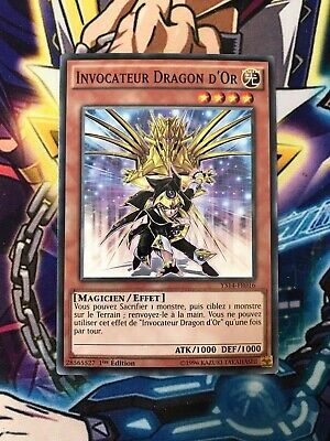 ♦Yu-Gi-Oh!♦ Invocateur Dragon d/'Or VF//COMMUNE YS14-FR016