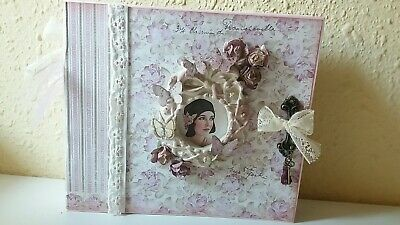 Album con desplegables scrap art boda regalo