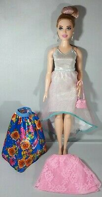 Barbie Mattel Curvy Fashionistas Original Nude Doll Life In The Dreamhouse