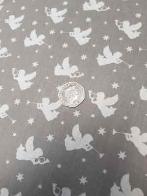 Smiley Faces Poly Cotton Dress Fabric 112cm wide