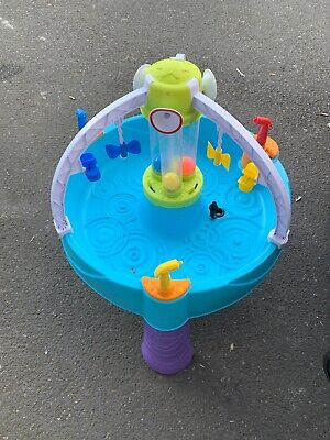 Little Tikes Fun Zone Battle Splash Water Table Used
