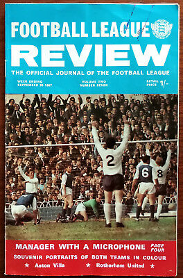 Football League Review Volume 2, Number 7, September 30th 1967