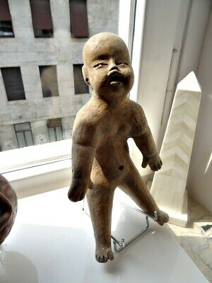 Pre-Columbian, ''Olmec Baby'' , ''clay' , ''ceramic'' , ''terracotta'' , figure.