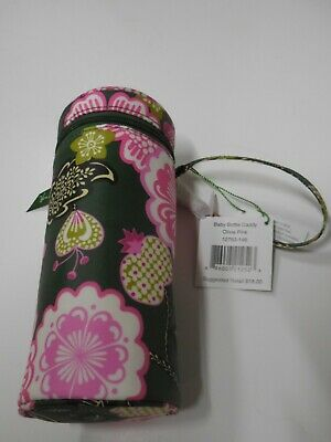 NWT Vera Bradley Baby Bottle Caddy Retired Pattern Olivia Pink