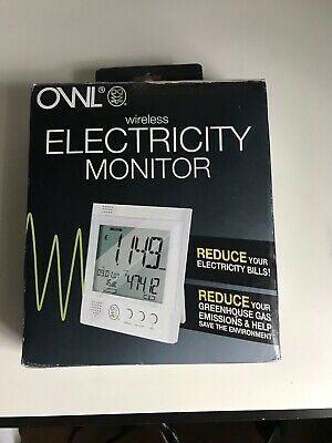 Electricity Monitor usage set Owl brand wireless for home/business