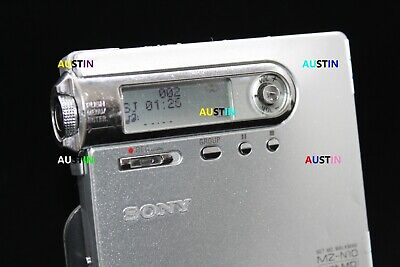 Sony Mz N10 Minidisc Player Net Md With Microphone .