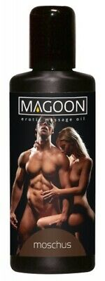Magoon Moschus Massage Öl Wellness Erotik Massageöl Moschus Aroma Sex Oil 100 ml