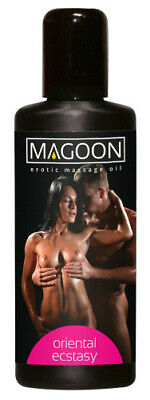 Magoon Oriental Ecstasy Massage Öl Erotik Massageöl Lust Liebe Sex Oil 100 ml