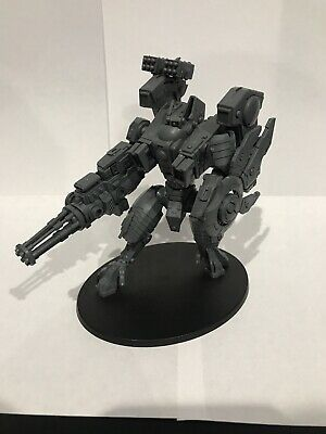 WARHAMMER 40K TAU T'au Empire - 4 XV15 Stealth Suits (oop metal