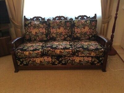 Antique Jacobean Lounge Suite