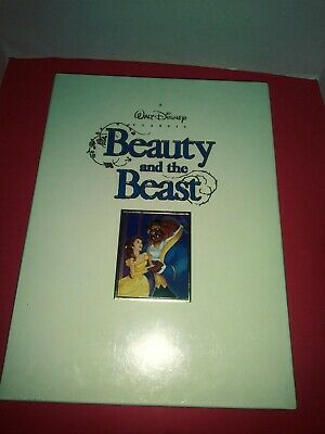 "A Walt Disney Classic ""Beauty And The Beast"" Deluxe Collector's Edition New"