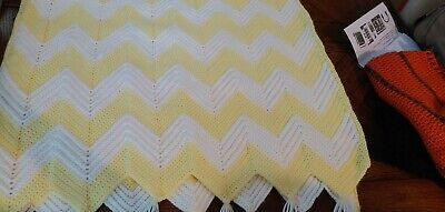 Handmade crochet baby blanket new